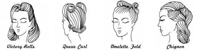 victory-rolls-queue-curl-omelet-fold-chignon-1