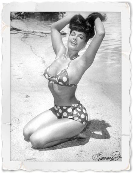 bettie page 1950