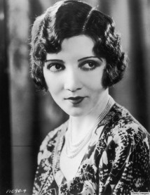 circa 1930: Headshot portrait of American actor Claudette Colbert (1903 - 1996) with a bob haircut, wearing a patterned dress. (Photo by Hulton Archive/Getty Images)