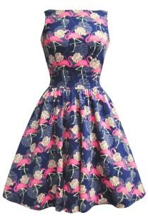 site belldany lvss16teafla_robe-pin-up-retro-50-s-rockabilly-tea-party-flamingo-flamant