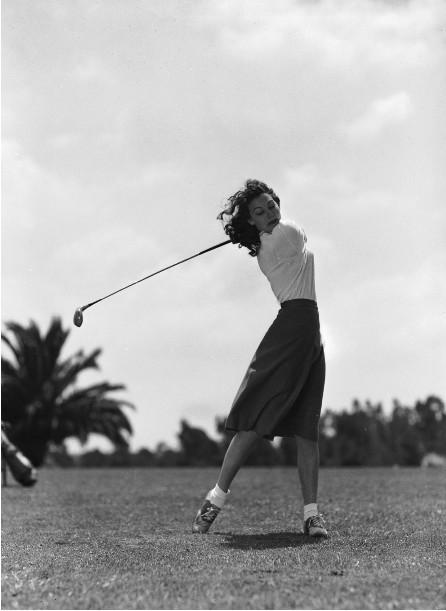 Ava-Gardner-golf