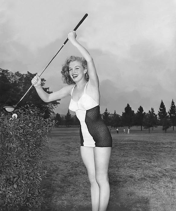 Marilyn-Monroe_golf