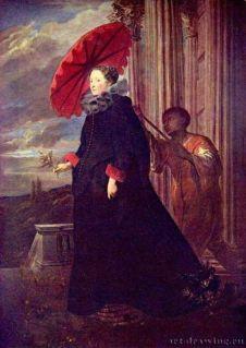 """Portrait de la marquise Elena Grimaldi"" Antoine van Dick 1623"