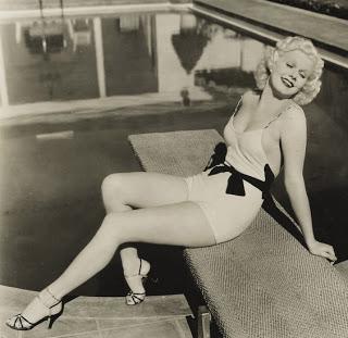 jean harlow-1930's bathing suit
