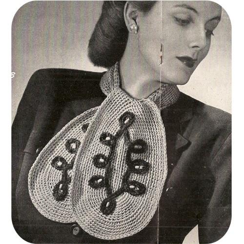 vintage_1940s_ascot_tie_scarf_crochet_pdf_pattern_no_2773_8a018a86