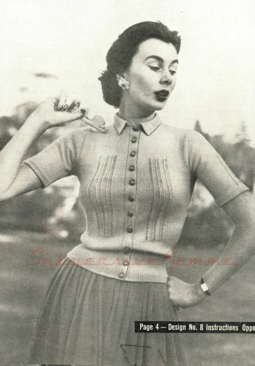 1950 cardigan