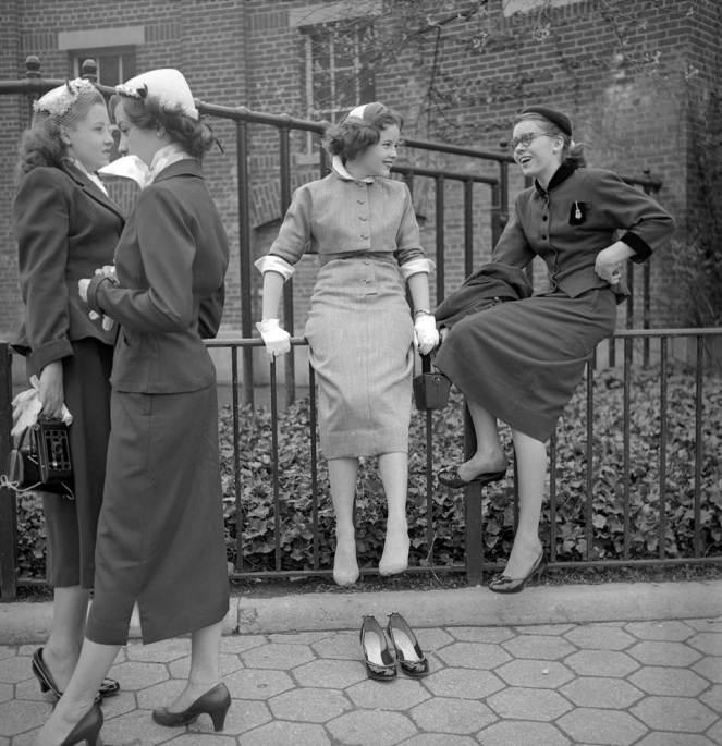 New York Street Scenes, 1950s (14)