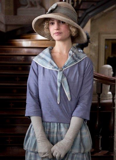 UK USE ONLY Downton Abbey S3 The third series, set in 1920, sees the return of all the much loved characters in the sumptuous setting of Downton Abbey. As they face new challenges, the Crawley family and the servants who work for them remain inseparably interlinked. LILY JAMES as Lady Rose