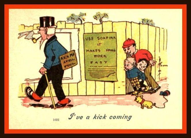 99dec9163eb64c17000b7ed43b872e63--april-fools-day-vintage-postcards