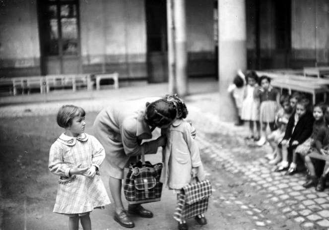 2 Octobre 1950 Rentrée des classes à Bordeaux